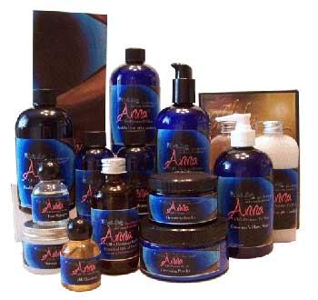 Anna cat shampoo line