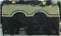 gold front curtain