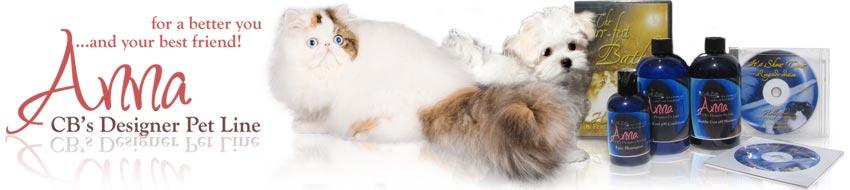 anna designer pet cat shampoo